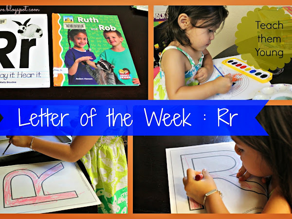 Letter of the Week : Rr