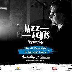 Jazz Nights at Acrópolis presenta este miércoles 23 de Agosto a las 6:00PM