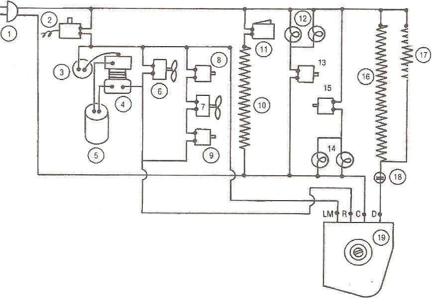 refrigeraci u00f3n y climatizaci u00f3n   diagrama electrico de un