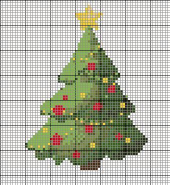 CHRISTMAS CROSS STITCH ORNAMENT PATTERNS « Free Patterns