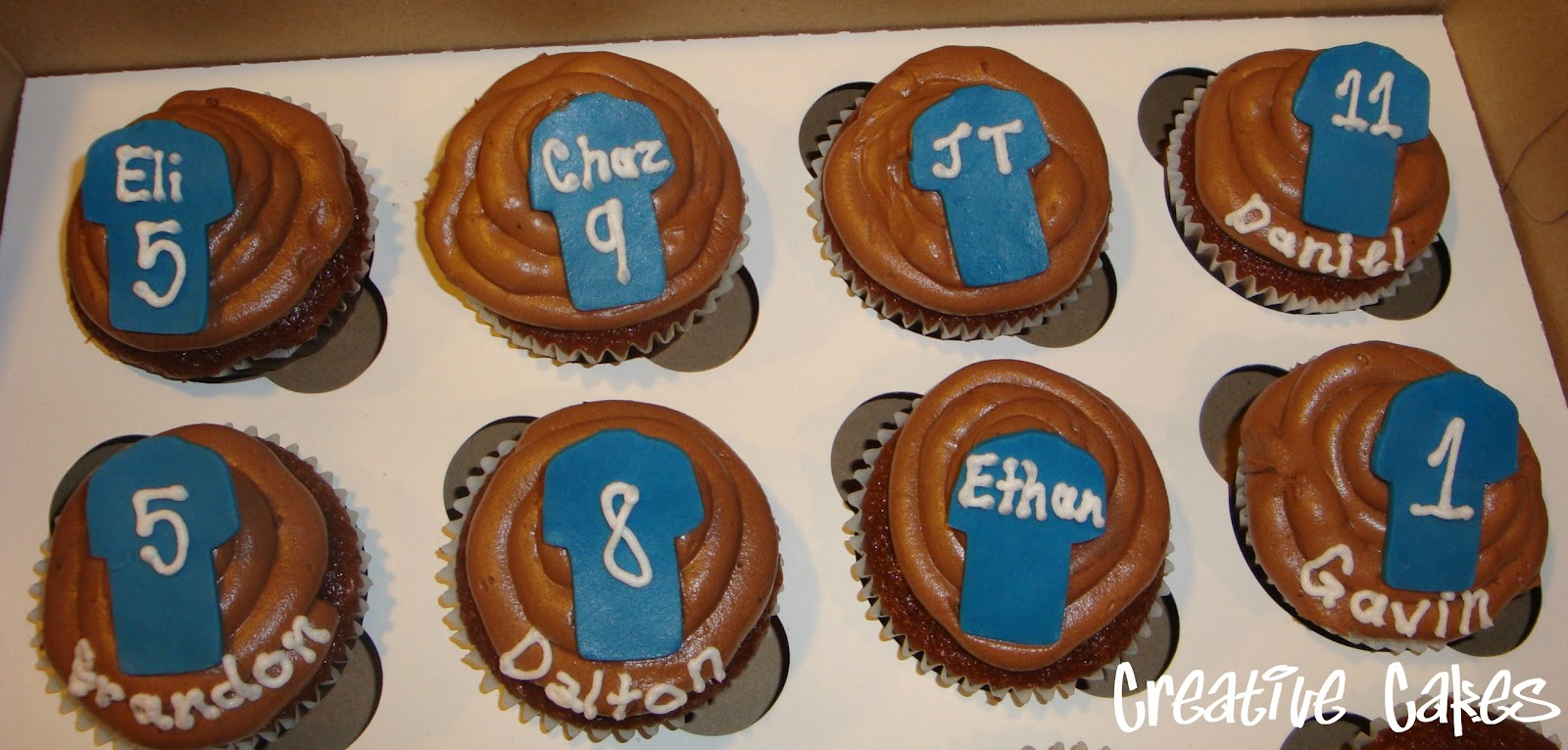 Creative Cakes Basketball Jersey Cupcakes And Cake