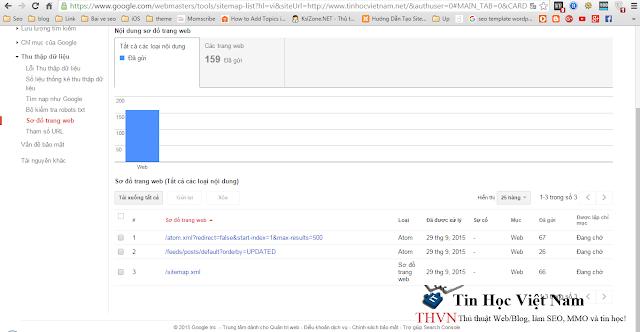 gui sitemap blogspot cho google