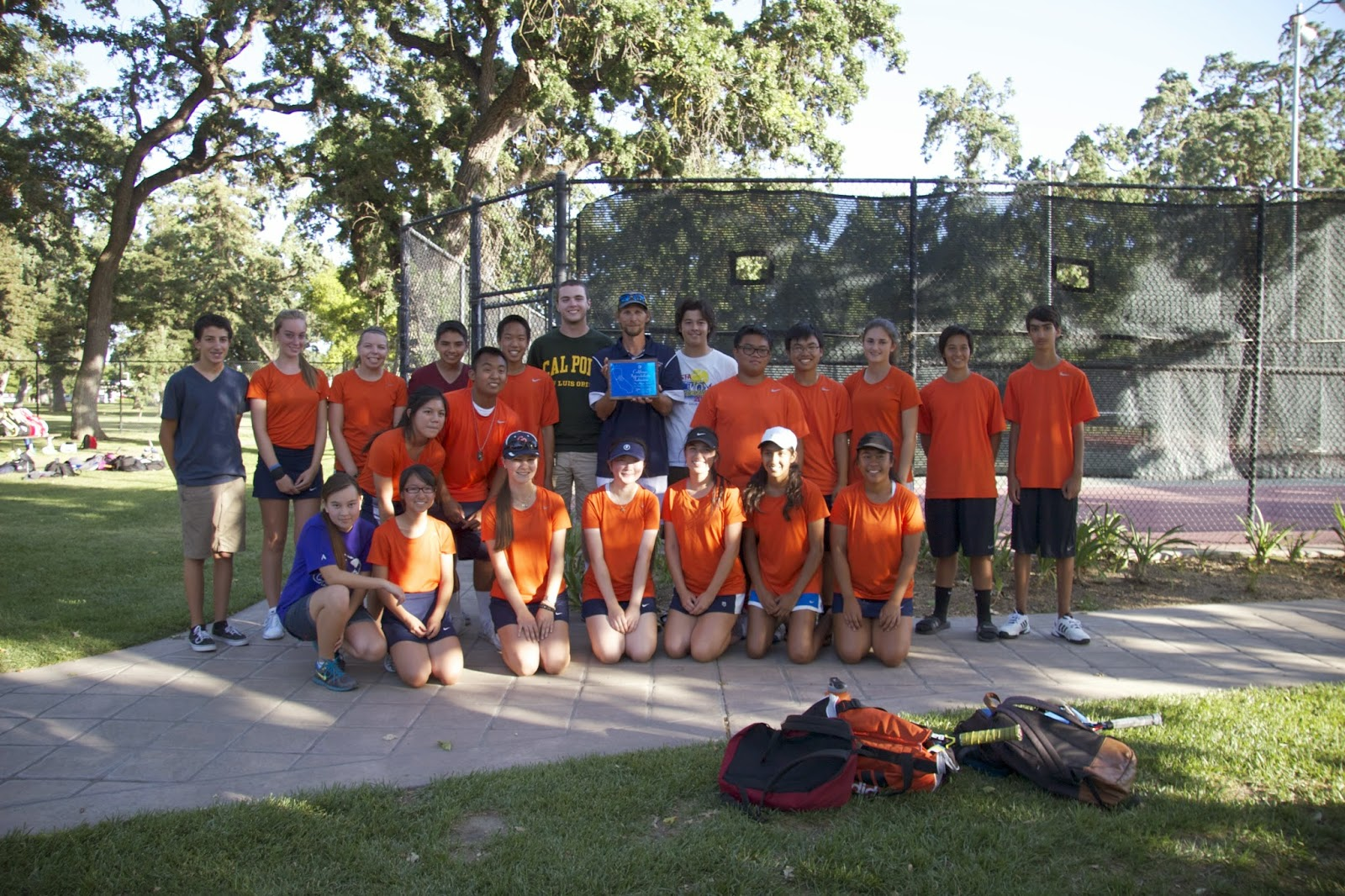 Cosumnes Oaks Tennis Takes D-III Team Runnerup