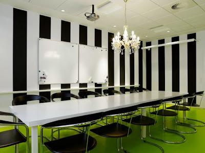 interior kantor modern-nuansa penjara