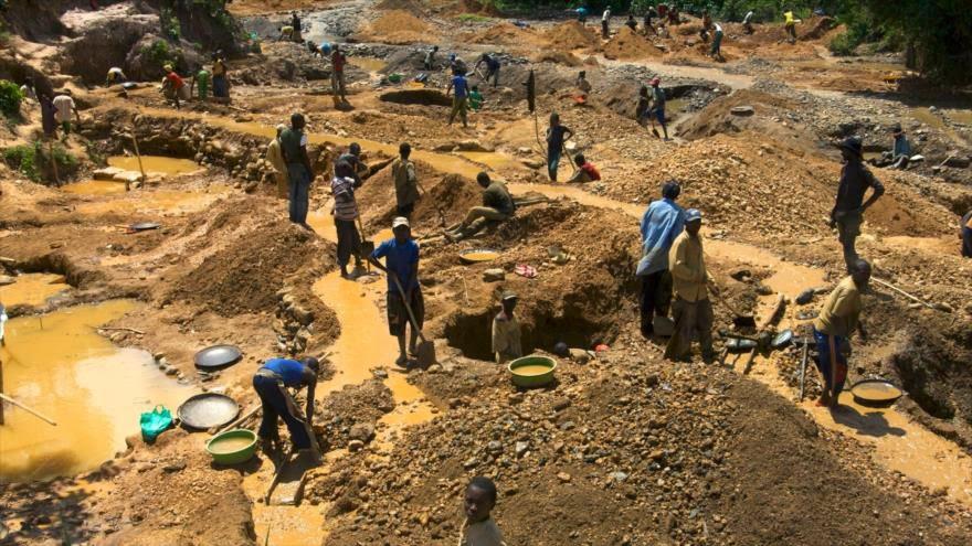 SSA: Israel busca apoderarse de los recursos minerales de África