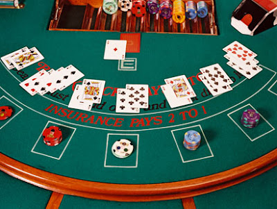 Mesa de BlackJack