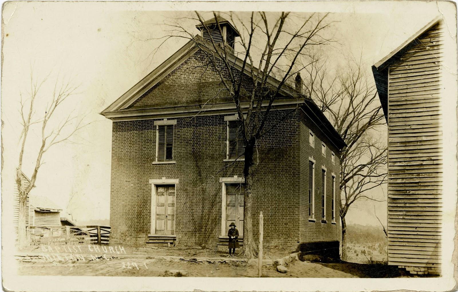 Caswell County Historical Association: Milton Baptist Church (Milton ...