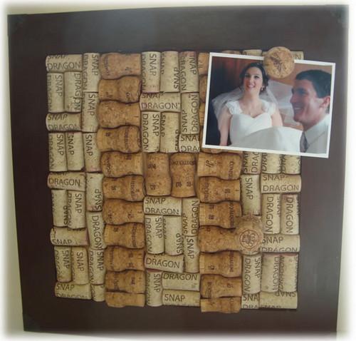Portarretratos de corcho manualidades f ciles for Cuadros con corchos