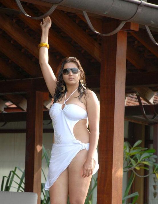 namitha hot in bikini in billa movie
