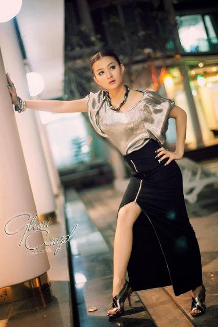 Wutt Hmone Shwe Yi - Myanmar Model Girls