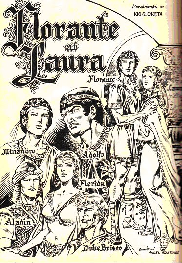 Ang inside page ng Florante at Laura