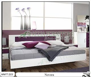 Tempat Tidur New Minimalis Modern Model Novara