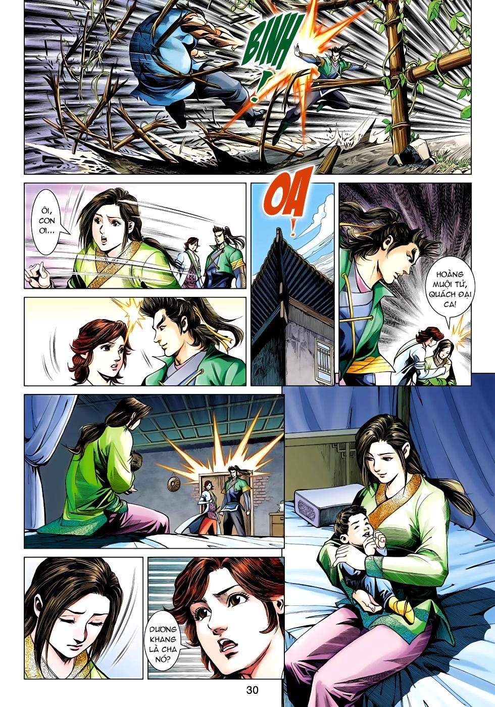 Xạ Điêu Anh Hùng Truyện chap 100 – End Trang 30 - Mangak.info