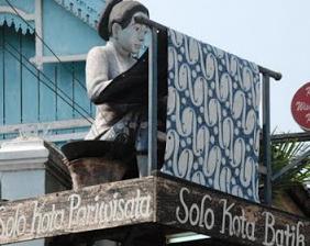 Tempat Wisata di Solo Kampoeng Batik Kauman