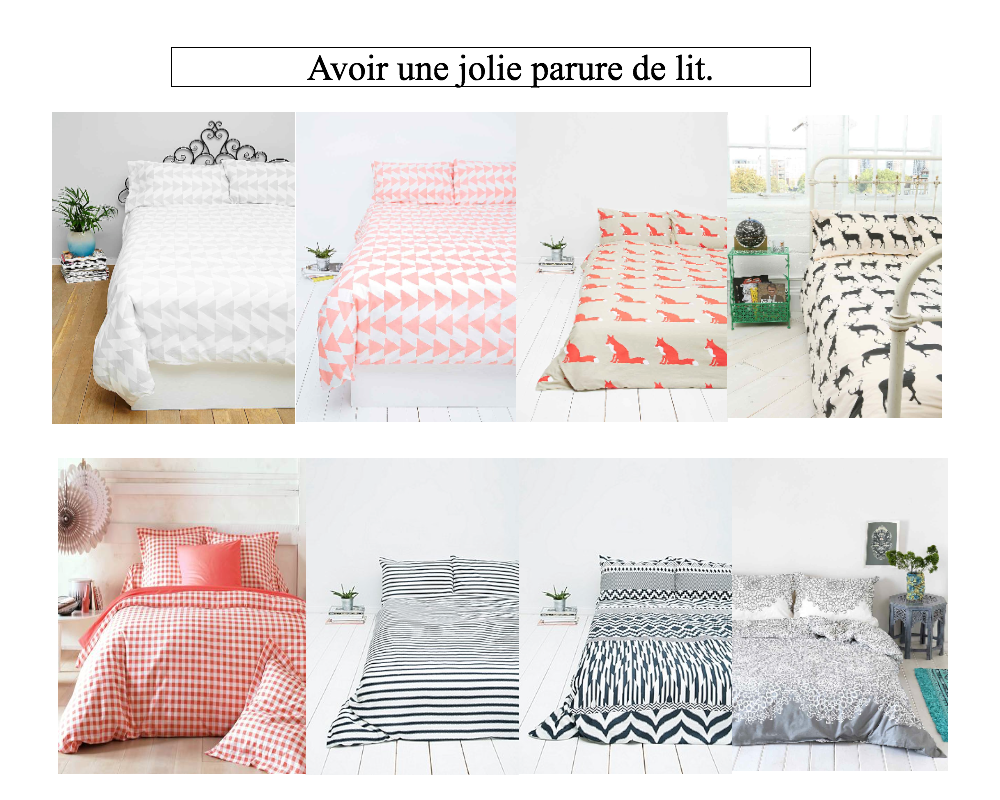 sois belle pipelette ma s lection pour habiller son lit. Black Bedroom Furniture Sets. Home Design Ideas