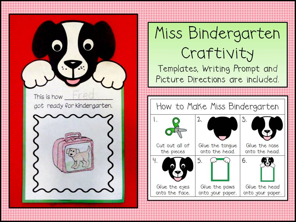 Peace love and learning the craftiness of craftivities for Miss bindergarten coloring pages