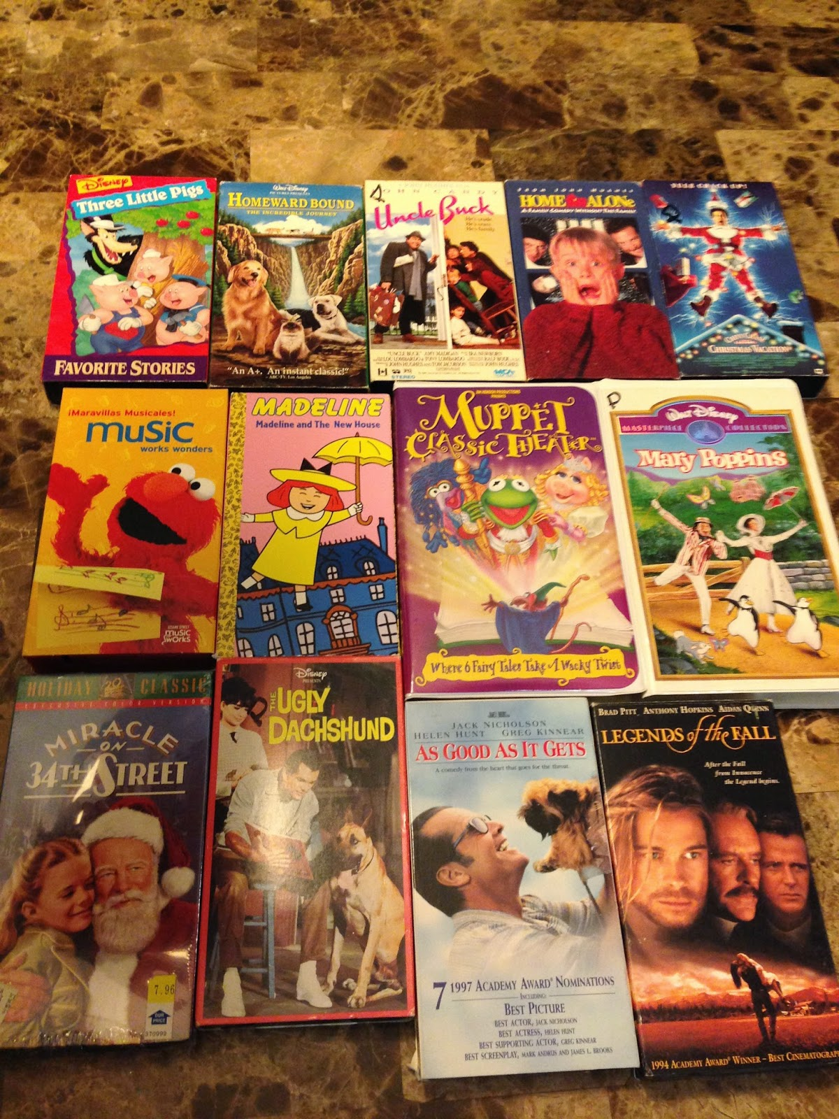 Sell Vhs Tapes >> Raising Funds for Brent's Heart: Children's Books, VHS Tapes, Board Games and toys