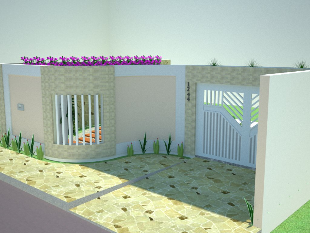 Muros residenciais coisas pra ver - Tipos de muros ...