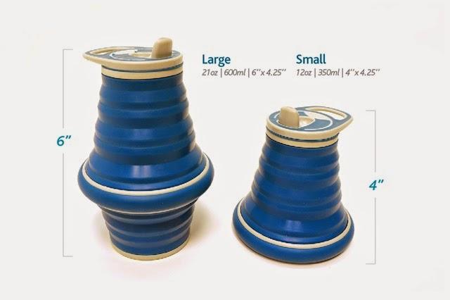 Hydaway Menyelesaikan Masalah Anda Dengan Botol Air Mudah Lipat!