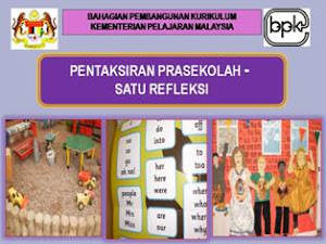 Pentaksiran Prasekolah
