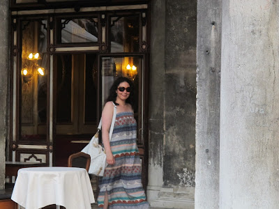 on holiday in Venice