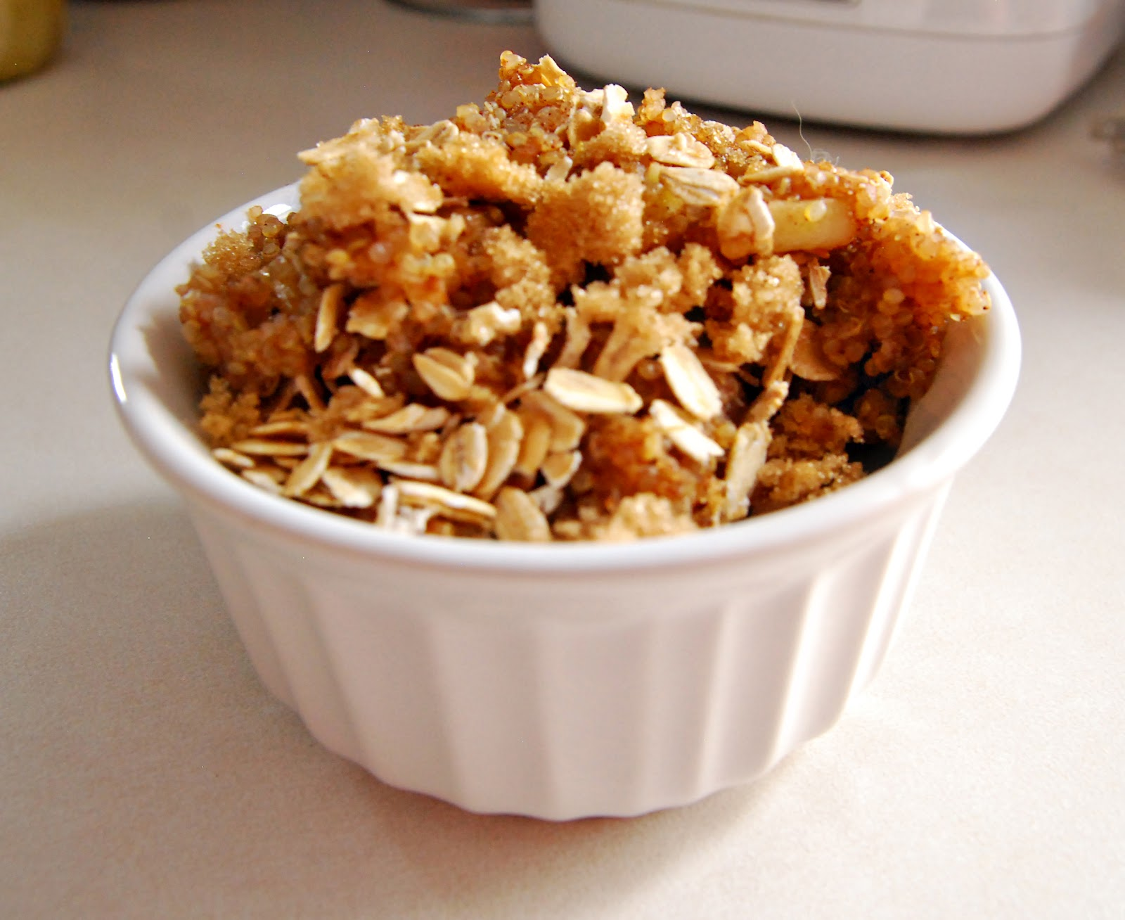 Frugally Foodulgent: Baked Apple Cinnamon Quinoa