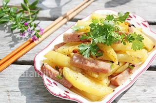 Thêm một cách xào khoai tây nhanh, ngon