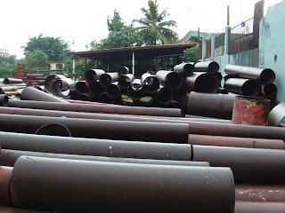 La Policía recupera metales robados a estructuras públicas