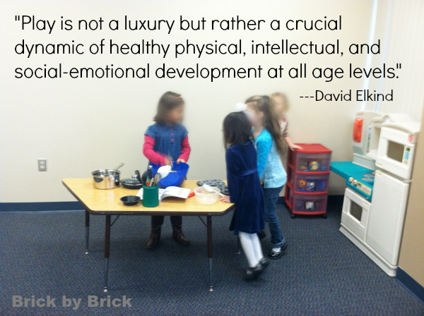 Play is not a luxury (Brick by Brick)