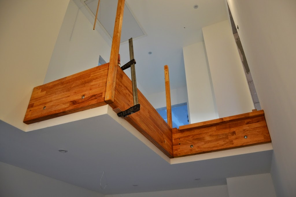 aus b wird hvl die treppe. Black Bedroom Furniture Sets. Home Design Ideas