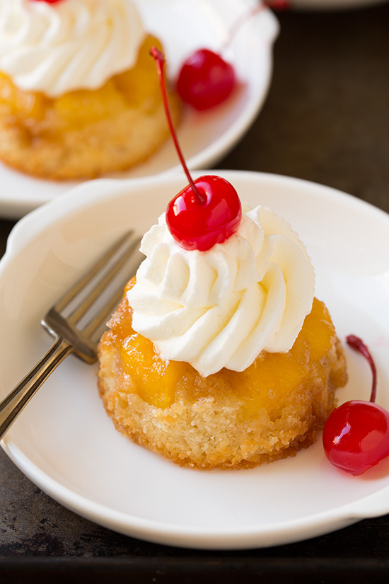 How To Make Pineapple Upside Down Cupcakes http://goo.gl/xYOGcD