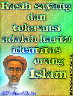 Kata2 (Bergambar) Bijak Islami KH. Ahmad Dahlan