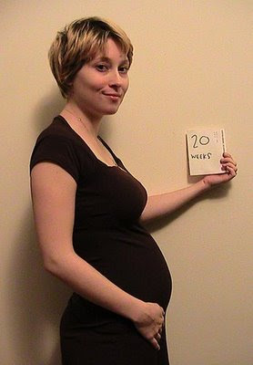 5 months pregnant image