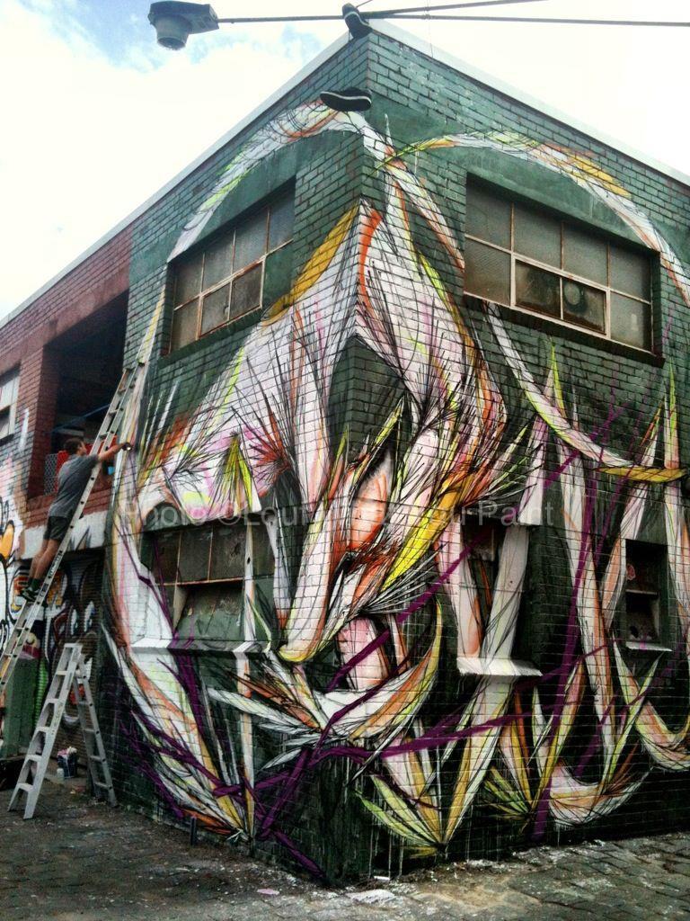 Shida new murals in melbourne australia streetartnews for Australian mural