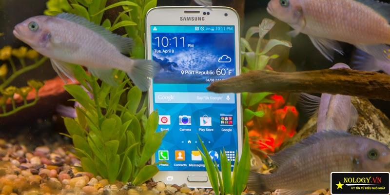 Samsung galaxy S5 khả năng chống nước