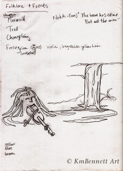 Fossegrim sketch