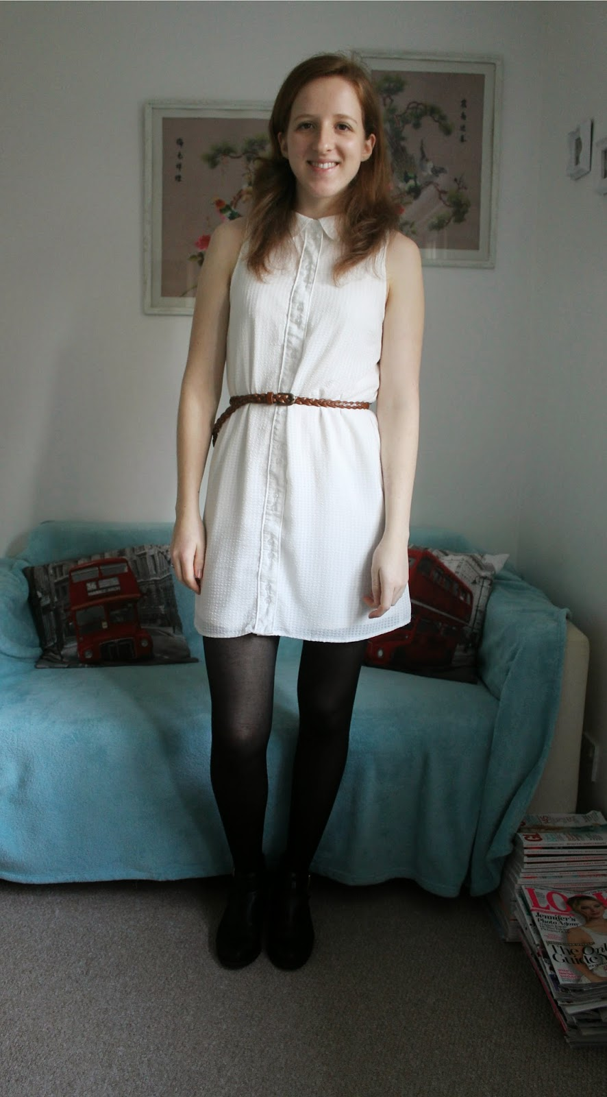 OOTD: Urban Outfitters Peter Pan Collar Dress