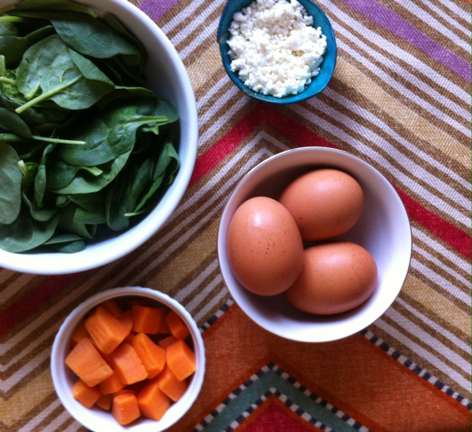 delight by design: mouse morsels {sweet potato + feta frittata}