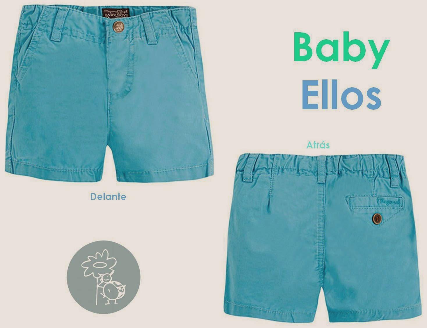 Mayoral pantalon short azul boys en Blog Retamal moda infantil y bebe
