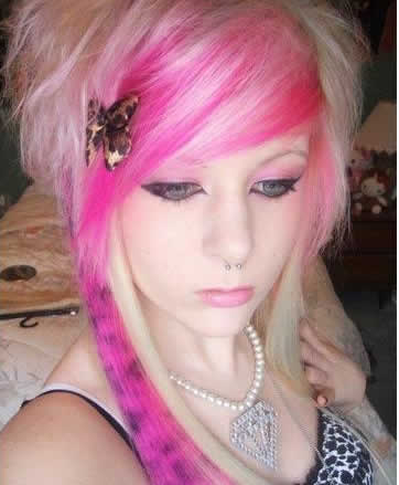 fashion emo hairstyles. Beautiful Emo Hair Styles -For