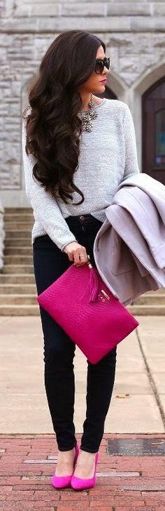 look_outfit_como_combinar_bolso_rosa_fucsia_nudelolablog_12