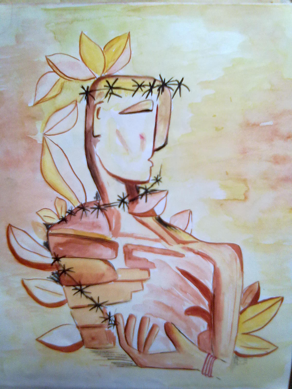Creative art and craft abstract art for Creative abstract painting