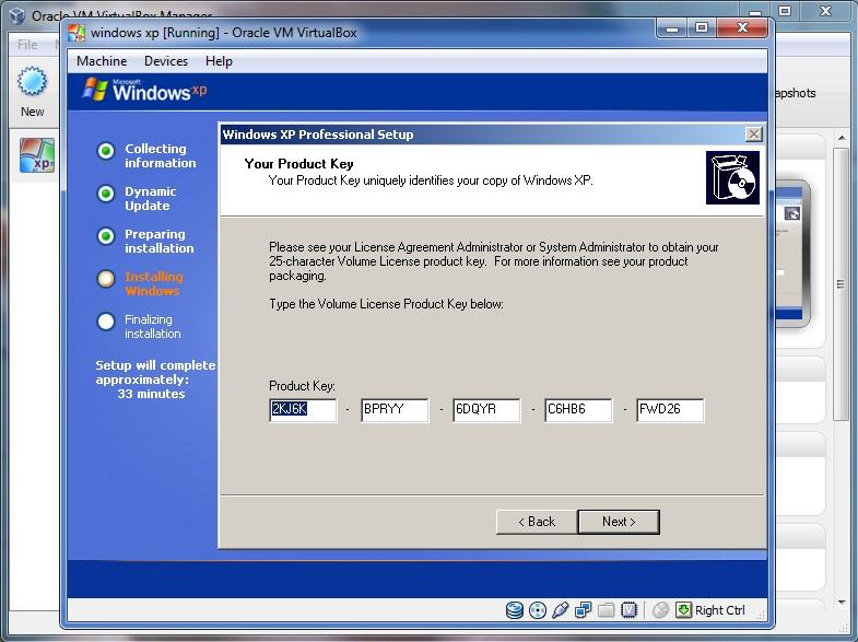 MICROSOFT WINDOWS XP (tm) RECOVERY CONSOLE