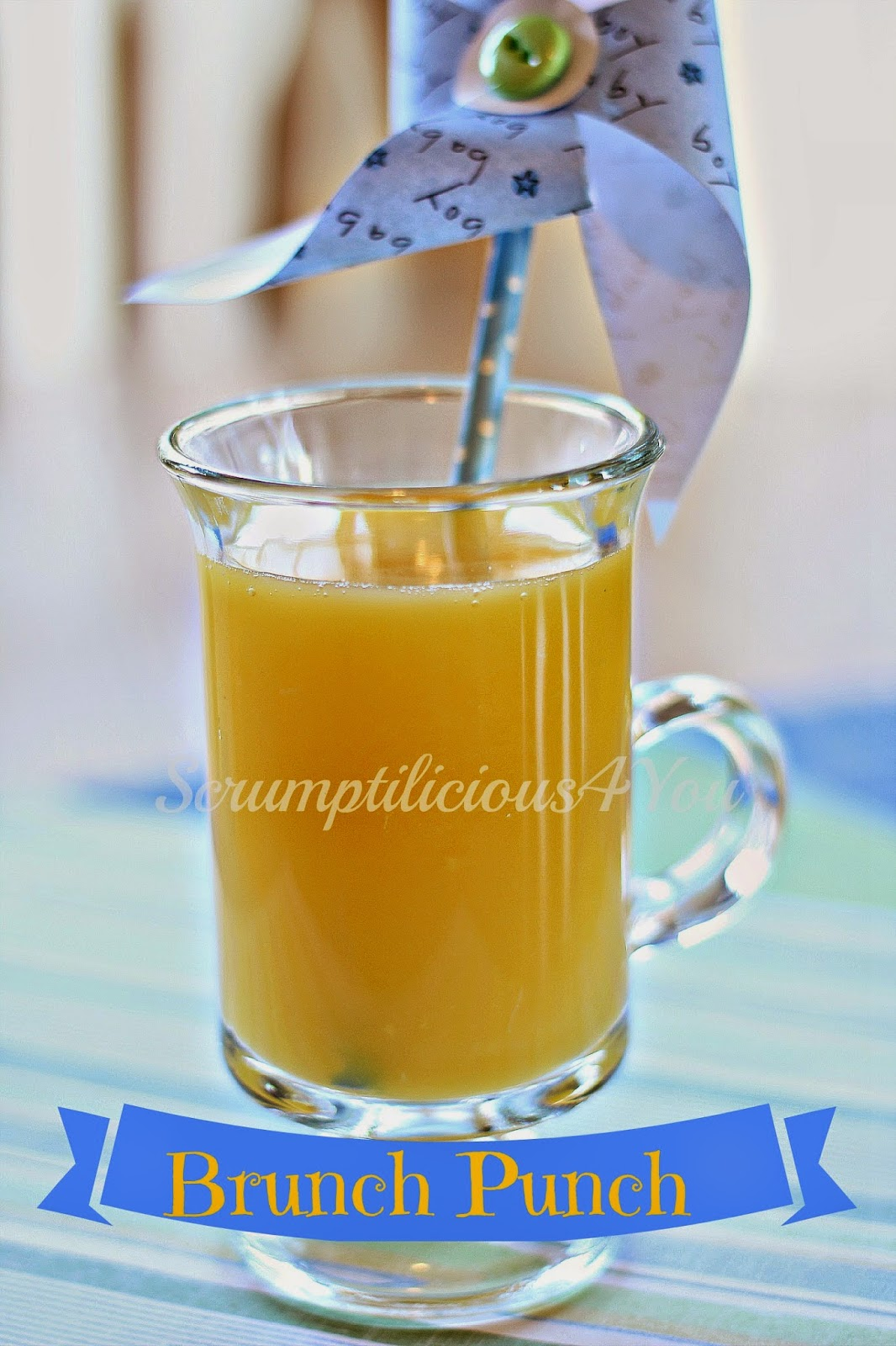 Delicious Orange Punch Recipe