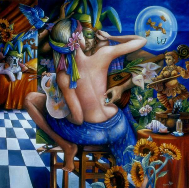Debra Hill |  Pintor Realismo Mágico de Australia