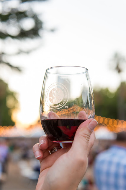 wine glass, red wine, wine festival sacramento