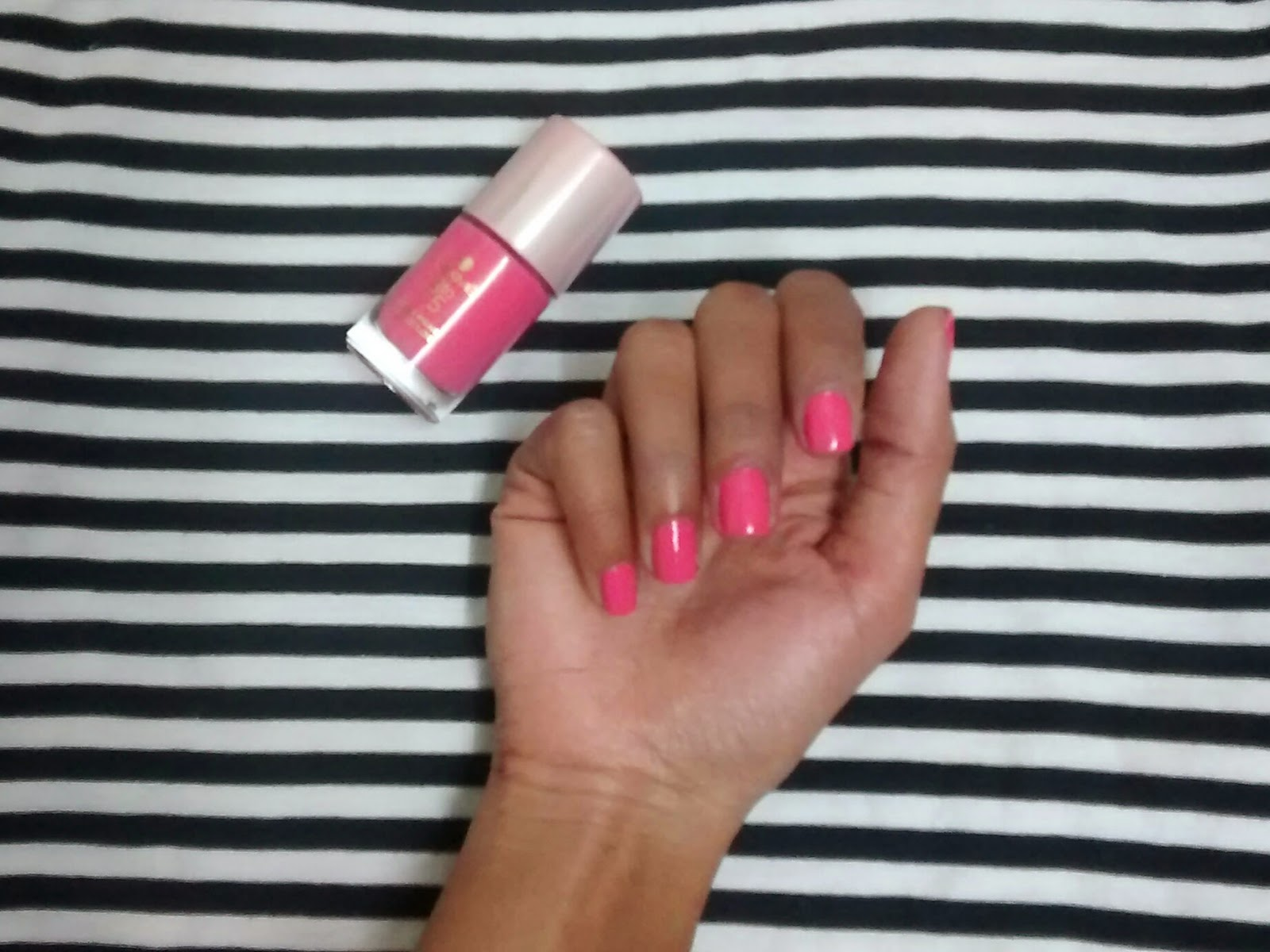 My Tryst with Makeup: Lakme 9 to 5 Long Wear Nail Colour - Rose Rush ...