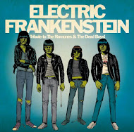 7&#39;&#39; - ELECTRIC FRANKENSTEIN - Tribute To The Ramones and The Dead Boys.