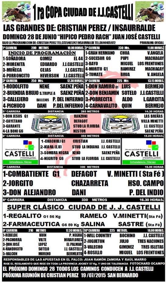 Castelli Programa 28-06