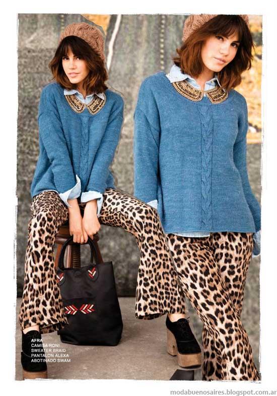 47 Street invierno 2013 sweaters tejidos